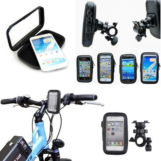 Fiets houder smartphones Waterdichte Schokbestendig maat XL in Gebergte