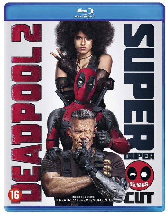 DVD cover van Deadpool 2 (Blu-ray)