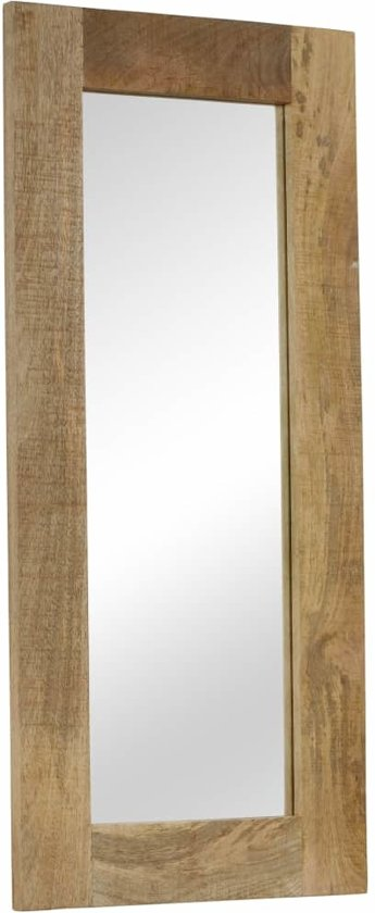 Uitgelezene bol.com | Spiegel wandspiegel muurspiegel hout mango 50x110cm lang EQ-39