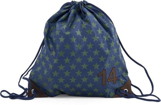 51b8ccf96e1d49 bol.com | Zebra Trends BOYS Zwemtas Star - Blue