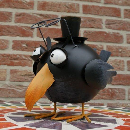 Wiebelende vogel Sherlock  - set van 2 stuks