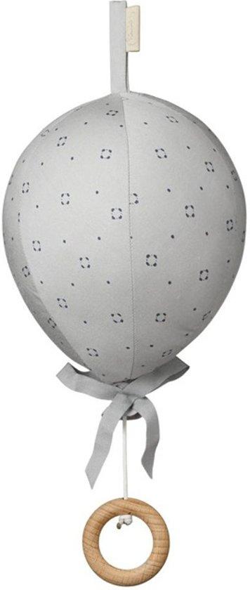 Muziekmobiel Luchtballon Luca Grijs CamCam