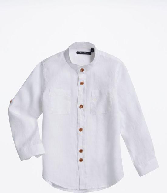 Linnen Overhemd Heren Lange Mouw.Bol Com Marc O Polo Linnen Overhemd Maat 140