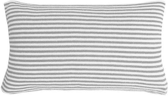 Marc O'Polo Arvid Kussen - 30x50 - Grey/ecru
