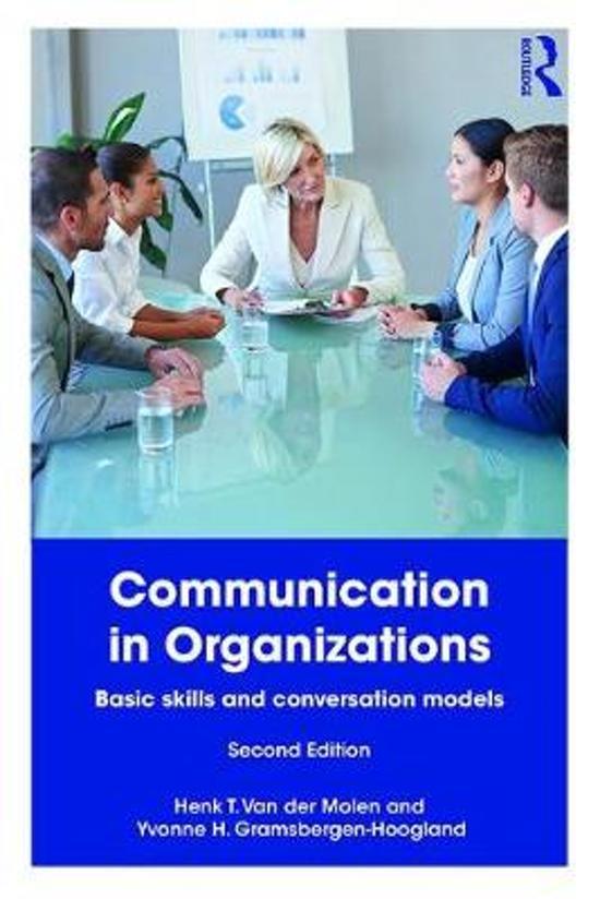 Boek cover Communication in Organizations van van der Molen, Henk t. (Paperback)