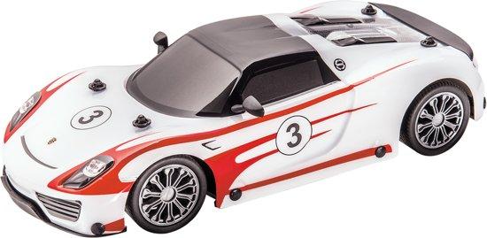 PORSCHE 918 RACING - RC - Raceauto - 1:16 - Wit/Rood