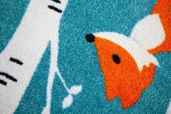 Vloerkleed Kinderkamer Rond : Bol.com rond kinder vloerkleed tapijt mat kinderkamer vos