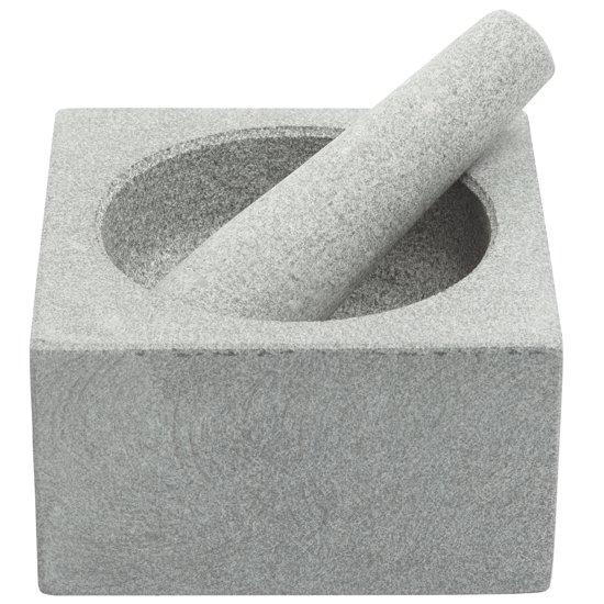 Cosy&Trendy Vijzel - Incl Stamper - Graniet - 14 cm x 8 cm