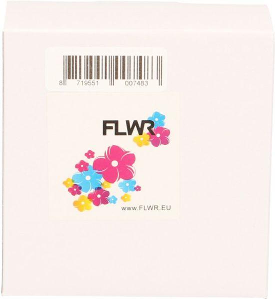 FLWR - Labelprinterrol / DK-11201 / Wit - geschikt voor Dymo