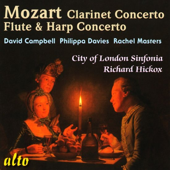 Mozart: Clarinet  Conc/Flute & Harp Concert