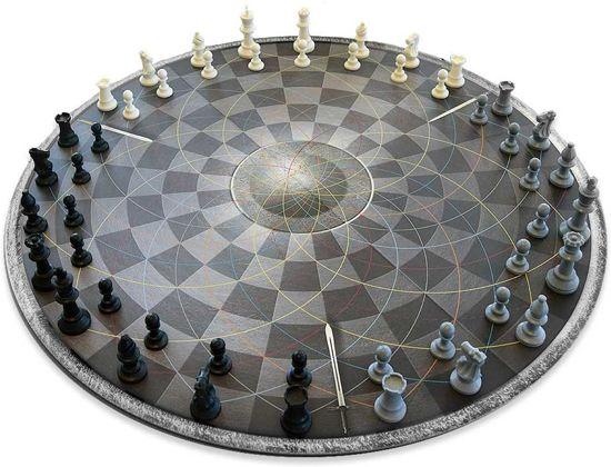 MikaMax - Chess for Three - Schaakbord voor 3 personen