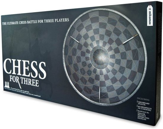 MikaMax - Chess for Three - Schaakbord voor 3 personen