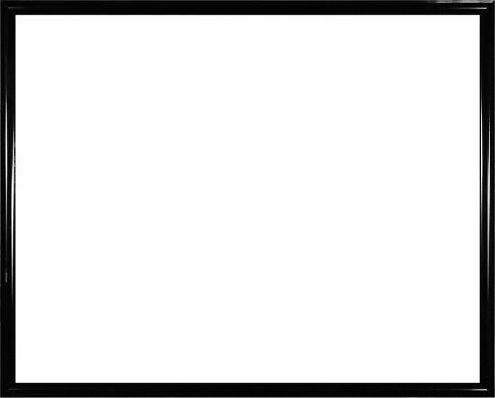 Homedecoration Biggy – Fotolijst – Fotomaat – 26 x 28 cm – Kunststof – Hoogglans zwart