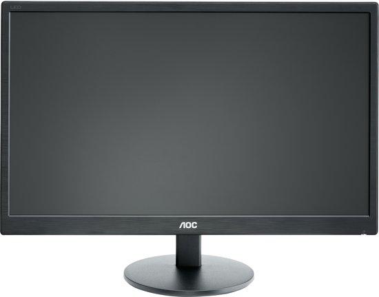 AOC E2270SWHN 21.5'' Full HD Mat Flat Zwart computer monitor LED display