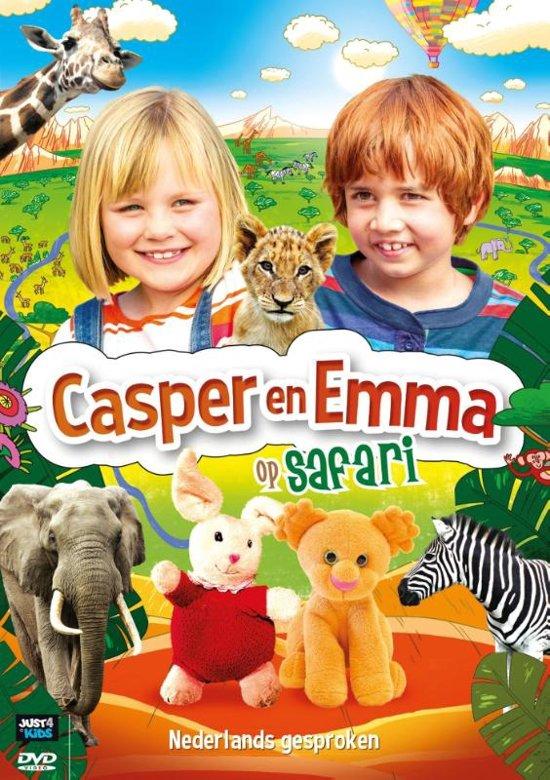 DVD cover van Casper en Emma - Op Safari