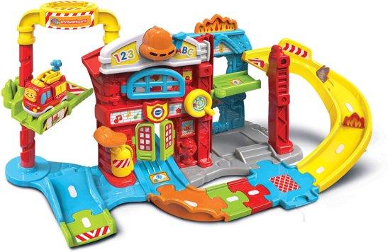 Afbeelding van VTech Toet Toet Autos Brandweerkazerne - Speelset speelgoed