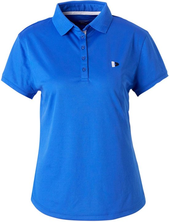 Donnay Cooldry Polo - Sportpolo - Dames - Maat XS - Blauw