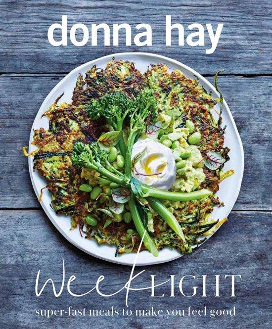 Boek cover Week light van Donna Hay (Paperback)