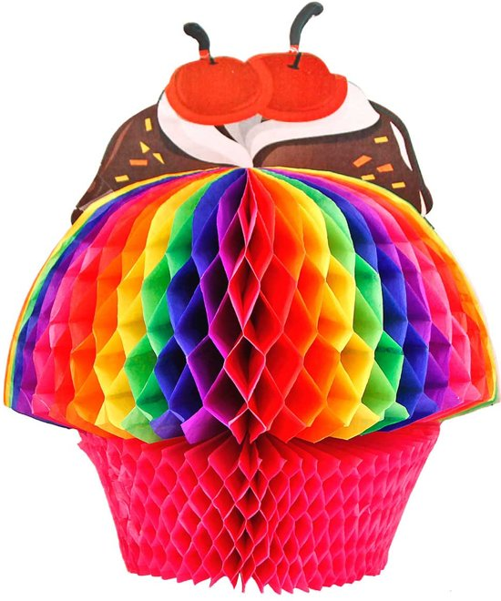 Cake & Candy Honeycomb Tafelversiering 20cm Valentinaa