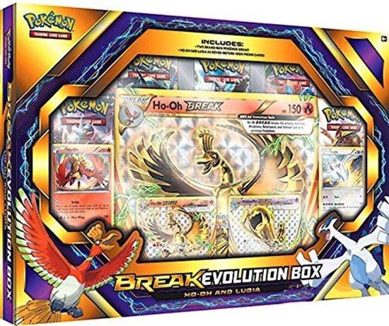 Afbeelding van het spel Pokemon kaarten Evolution Ho-Oh and Lugia Bo
