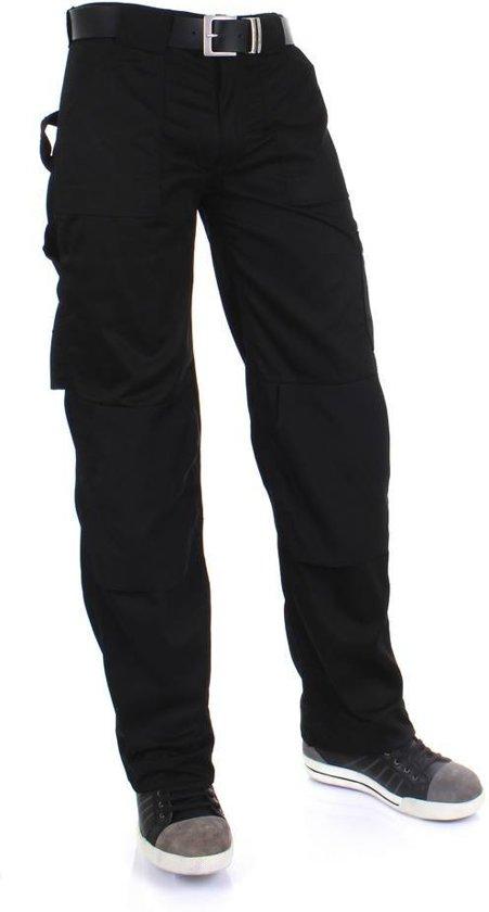 Werkbroeken met kniestukken KREB Workwear® DIK Vakmansbroek ZwartNL:58 BE:52