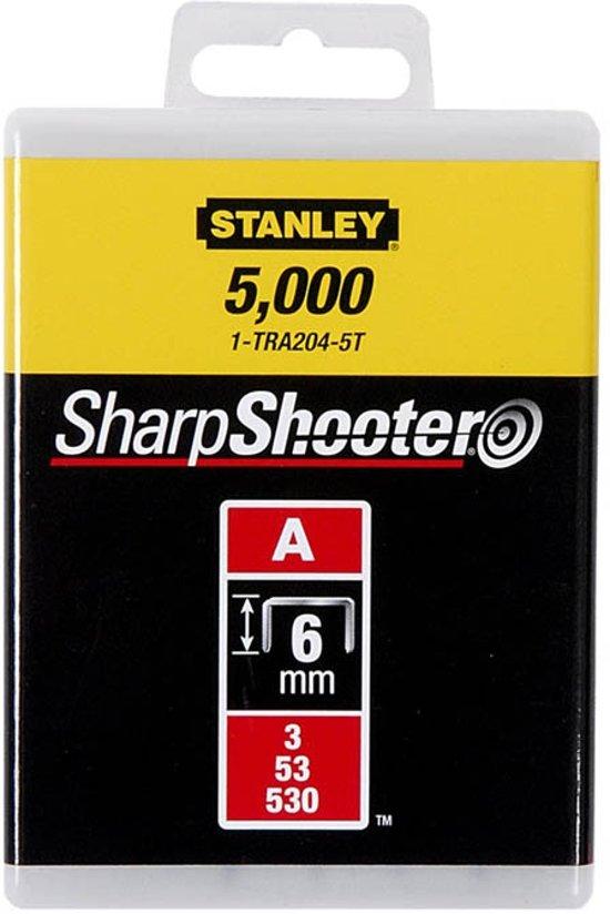 Stanley Nieten 6mm Type A - 1000 Stuks 1-TRA204T