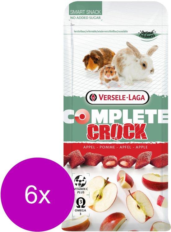 Versele-Laga Complete Crock Apple - Knaagdiersnack - 6 x Appel 50 g