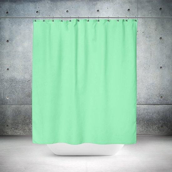 Roomture - douchegordijn - Green wall - 120 x 200