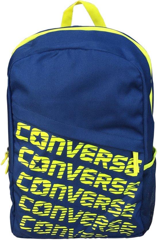 67285b1c718 Converse Sportieve Rugzak Blauw Geel Unisex – 45x28x13cm | Rugtas | Back  Pack | Sporttas