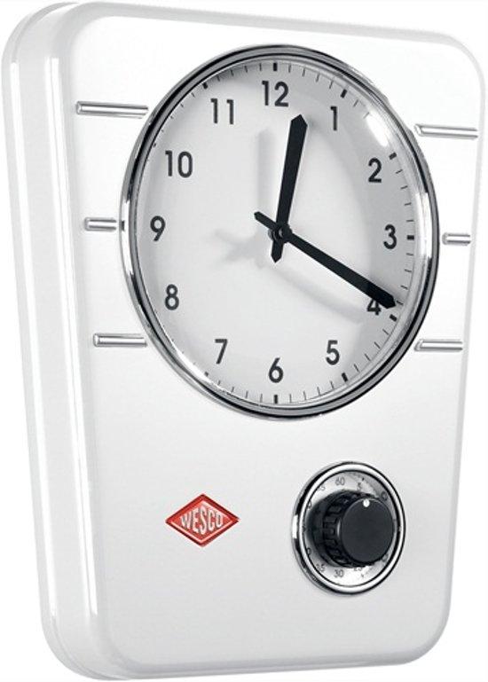 Wesco Classic Line Keukenklok 30,5 x 24,5 cm