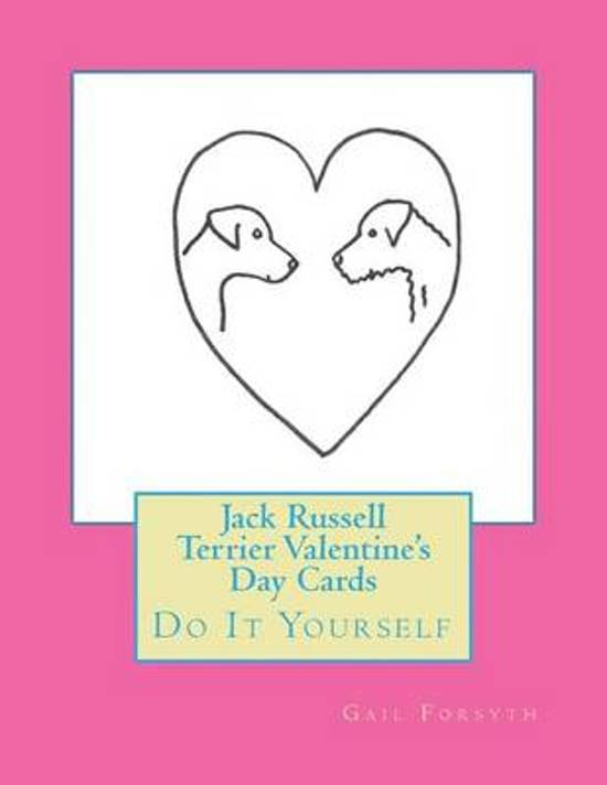 Jack Russell Terrier Valentine's Day Cards