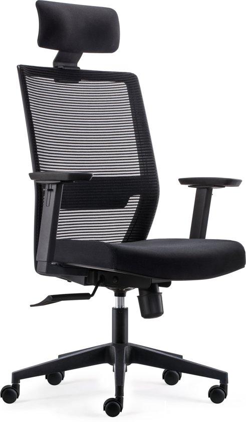 Bureaustoel Met Hoofdsteun.Bens 851h Eco 2 Complete Bureaustoel Met Hoofdsteun Ergonomisch Gevormd Zwart