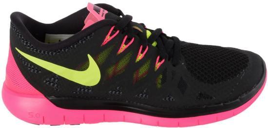 huge discount b524e 2dba6 Nike Free 5.0 - Hardloopschoenen - Barefoot - Vrouwen - 35.5 - ZwartRoze
