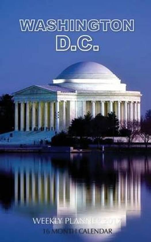 Washington D.C Weekly Planner 2017