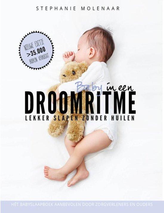 Boek cover Baby in een droomritme van Stephanie Molenaar -  Lampe (Hardcover)