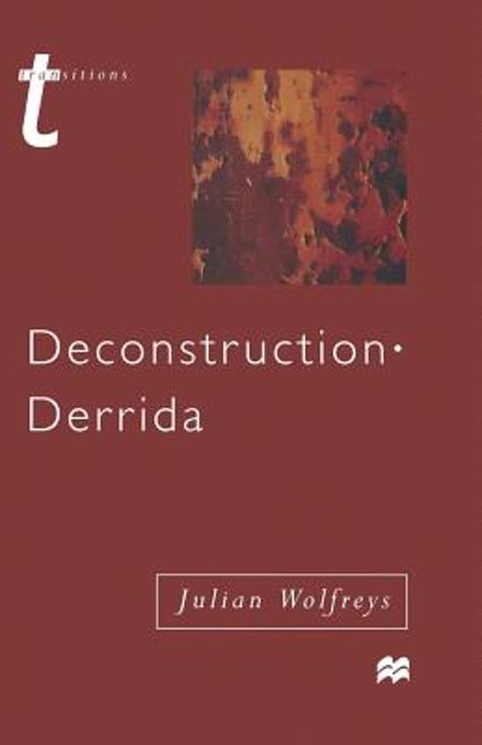 derrida deconstruction