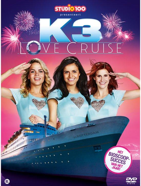 DVD cover van K3: Love Cruise
