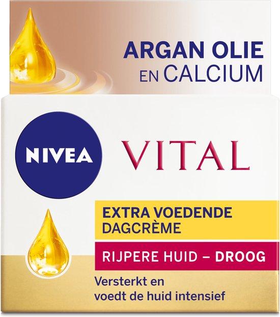 NIVEA Vital Calcium Extra Voedend - 50 ml - Dagcrème