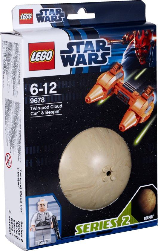 LEGO Star Wars Twin-Pod Cloud Car & Bespin - 9678