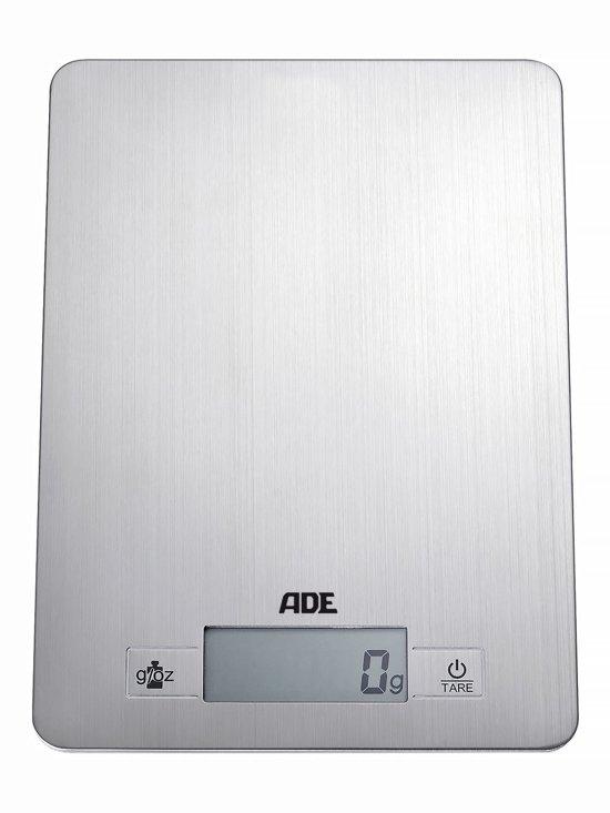 ADE Digitale Keukenweegschaal - Zilver