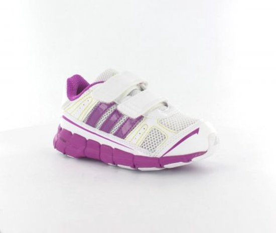 sports shoes 0359b e85a8 adidas adiFast CF I - Hardloophandschoenen - Kinderen - Maat 22 -  Wit Donker Roze
