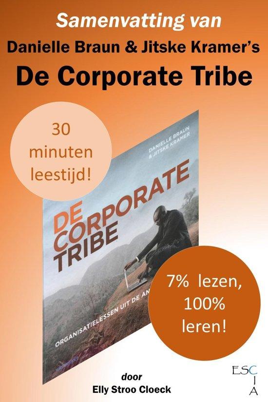 Boek cover Organisatiecultuur Collectie 2 - Samenvatting van Danielle Braun & Jitske Kramers De Corporate Tribe van Elly Stroo Cloeck (Onbekend)