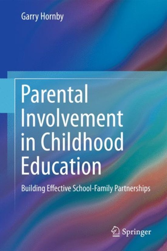 effectively involving parents in education Involvement in education parents, families, educators and communities—there's no better partnership to assure that all students pre-k- to high school—have the support and resources they need to succeed in school and in life  are effective and reliable.
