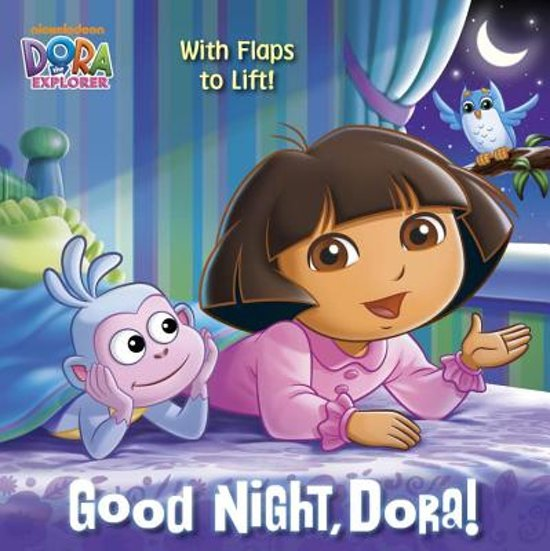 Boek cover DORA 8X840 GOOD NIGHT DORA van Random House (Paperback)