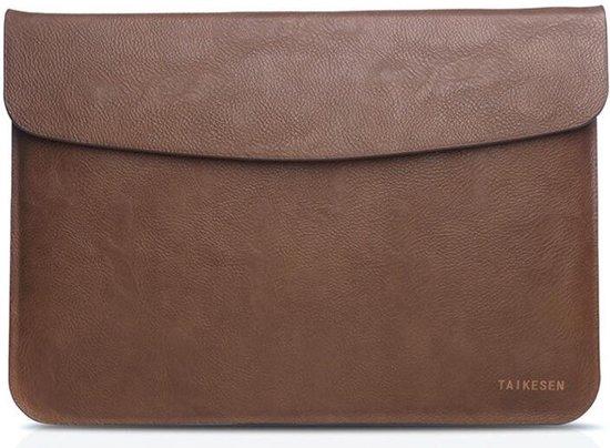 78b1c2e4bc4 bol.com   Leren sleeve voor MacBook Air/Pro 13 inch - bruin