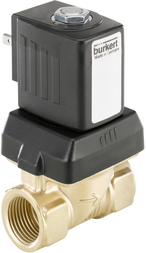G1/2'' Messing 230VAC Drinkwater Vet/Olievrij Magneetventiel 6213 221657 - 221657