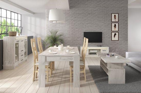 Witte Woonkamer Set : Bol woonkamer invido wit groot