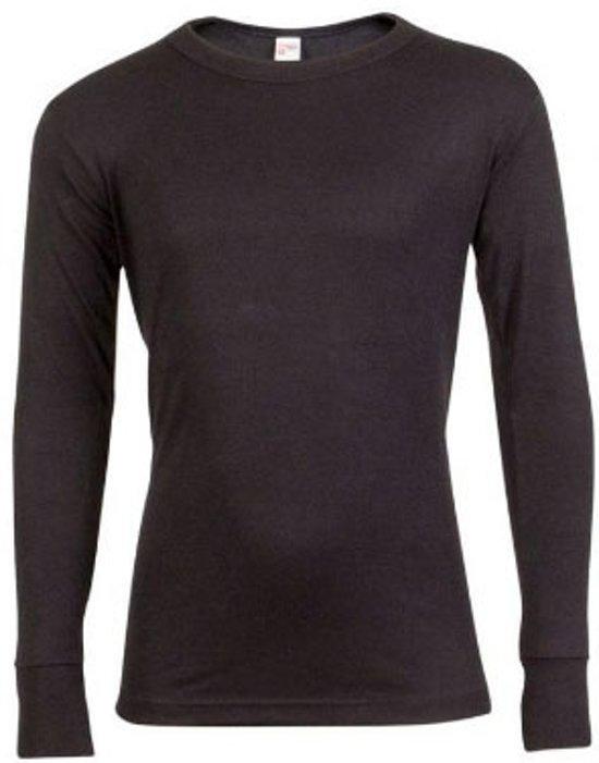 9dc764a8a39 Beeren Kinder Thermo Shirt - Ronde hals - Zwart - maat 152/164