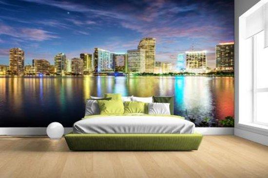 Babykamer Miami Kinderkamer : Bol fotocadeau skyline miami fotobehang
