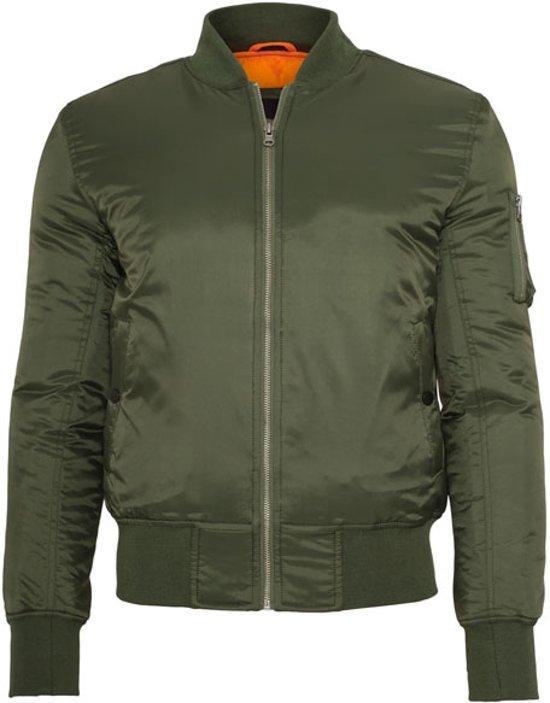 Olive Basic Urban Bomber Jacket Classics qa5w77I
